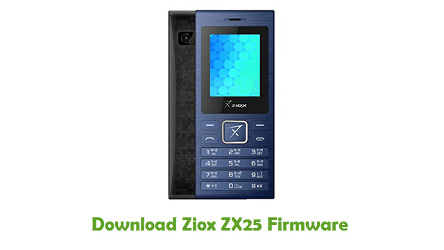 Download Ziox ZX25 Firmware