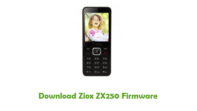 Download Ziox ZX250 Firmware