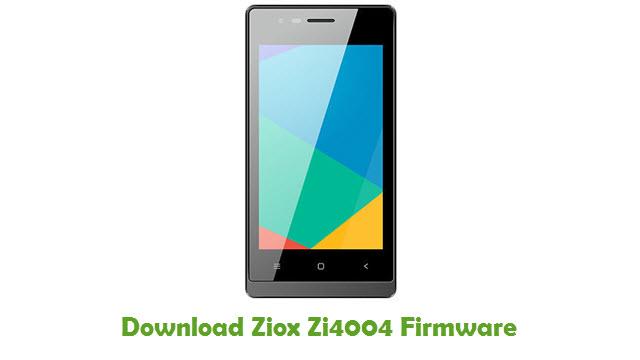 Download Ziox Zi4004 Firmware