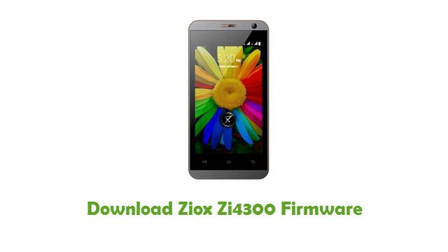 Download Ziox Zi4300 Firmware