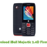 iBall Majestic 2.4D Firmware