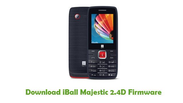 iBall Majestic 2.4D Stock ROM