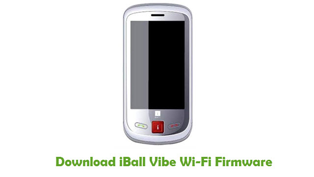 Download iBall Vibe Wi-Fi Firmware