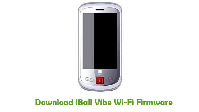 iBall Vibe Wi-Fi Stock ROM