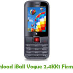iBall Vogue 2.4KK1 Firmware