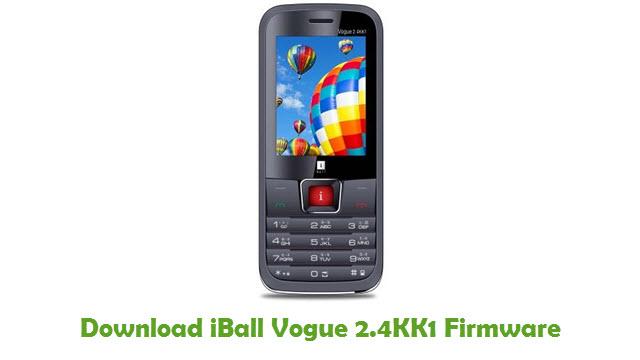 Download iBall Vogue 2.4KK1 Firmware