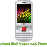 iBall Vogue 2.6C Firmware