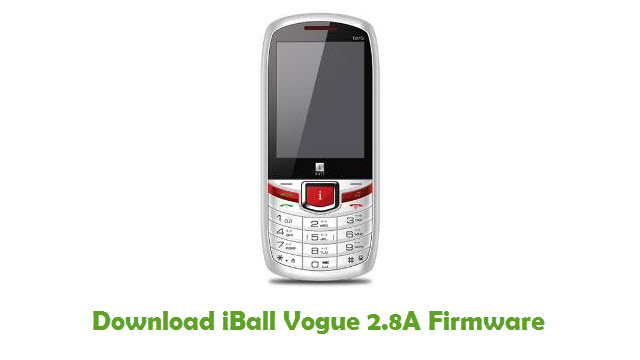 Download iBall Vogue 2.8A Firmware