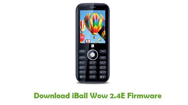 Download iBall Wow 2.4E Firmware