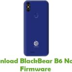 BlackBear B6 Note X Firmware