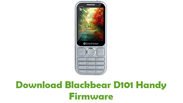 Blackbear D101 Handy Stock ROM