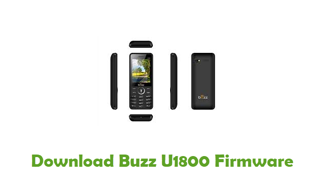 Download Buzz U1800 Stock ROM