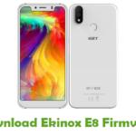 Ekinox E8 Firmware