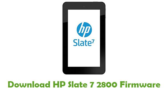 HP Slate 7 2800 Stock ROM