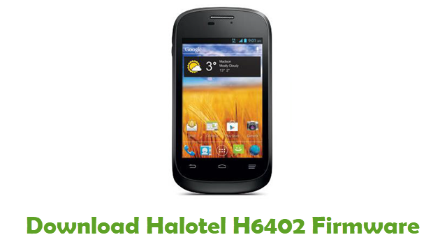 Download Halotel H6402 Stock ROM