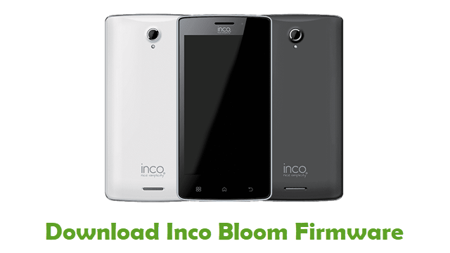 Download Inco Bloom Stock ROM