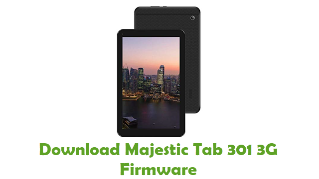 Download Majestic Tab 301 3G Stock ROM