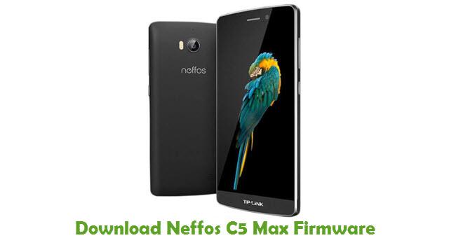 Neffos C5 Max Stock ROM