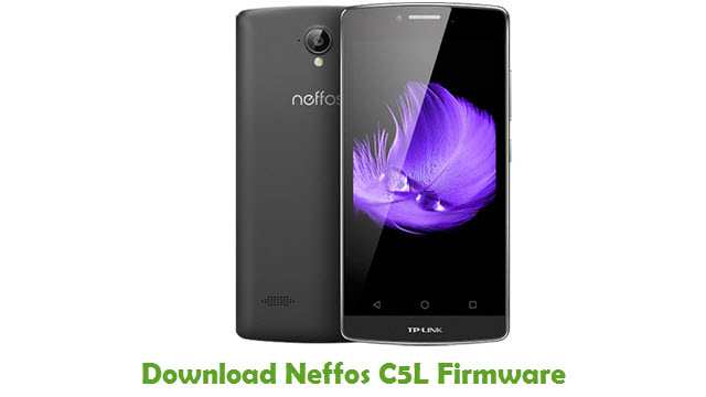 Download Neffos C5L Stock ROM