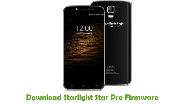 Starlight Star Pro Stock ROM