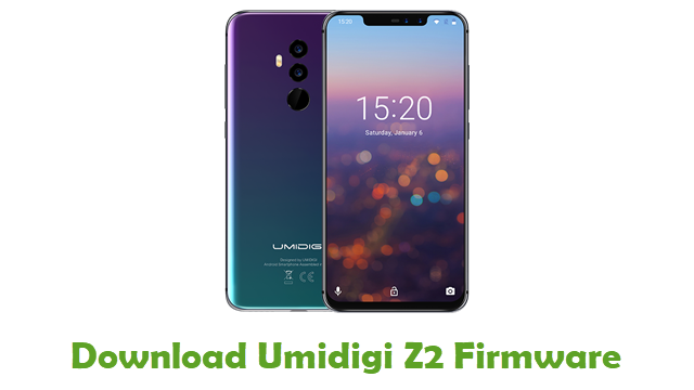 Download Umidigi Z2 Stock ROM