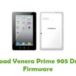 Venera Prime 905 Dual SIM Firmware