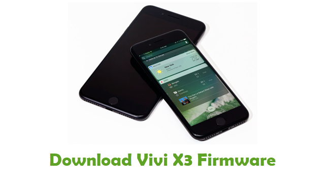 Download Vivi X3 Stock ROM