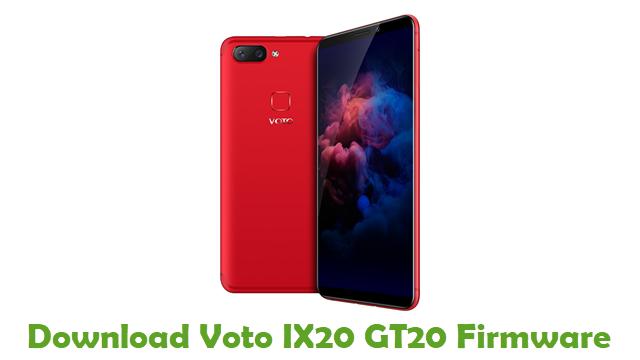 Download Voto IX20 GT20 Stock ROM