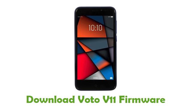 Voto V11 Stock ROM