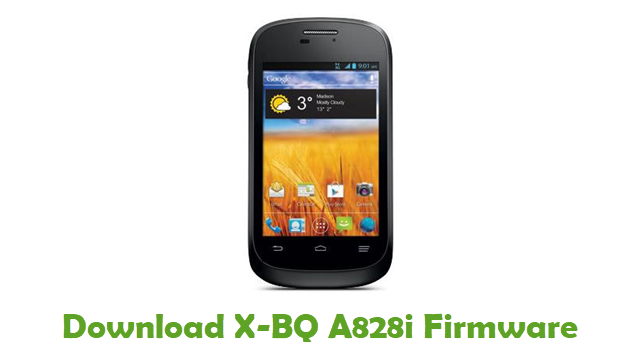 Download X-BQ A828i Stock ROM