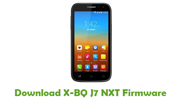Download X-BQ J7 NXT Firmware