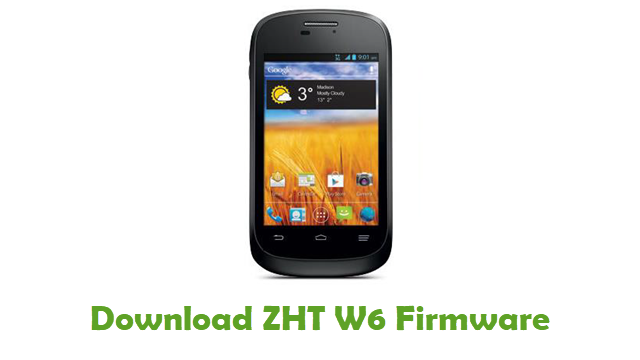 Download ZHT W6 Stock ROM