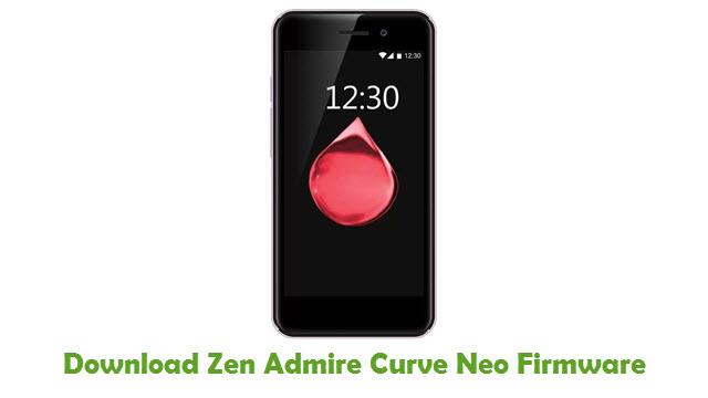Zen Admire Curve Neo Stock ROM