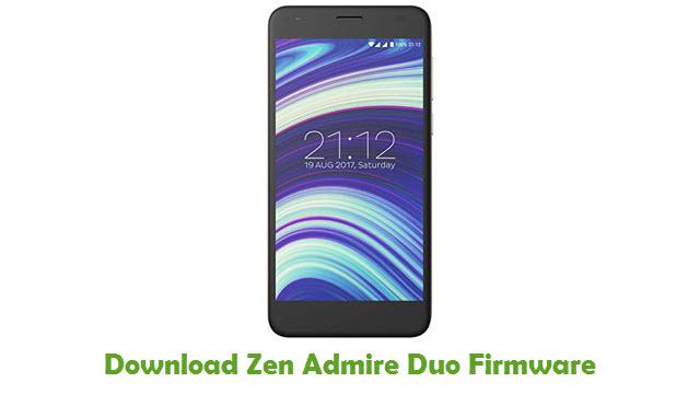 Zen Admire Duo Stock ROM