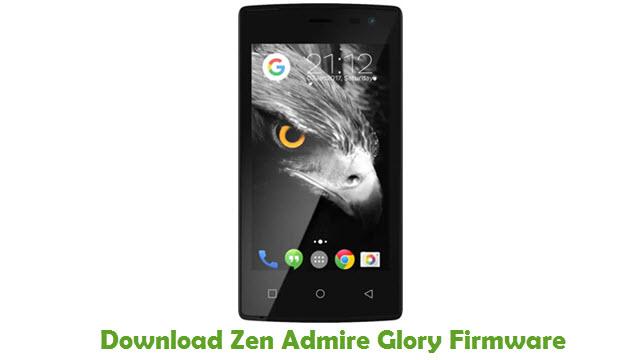 Download Zen Admire Glory Stock ROM