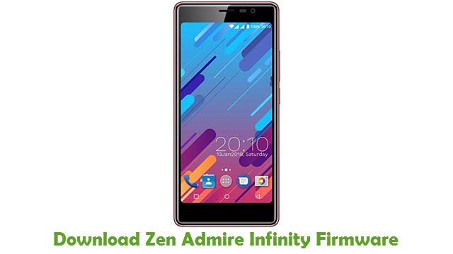Download Zen Admire Infinity Stock ROM