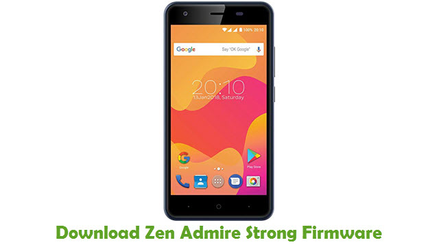 Download Zen Admire Strong Stock ROM