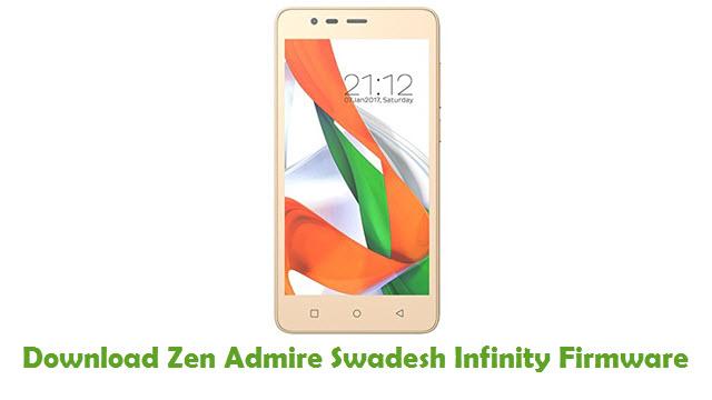 Zen Admire Swadesh Infinity Stock ROM