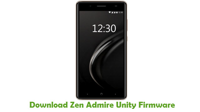 Download Zen Admire Unity Stock ROM