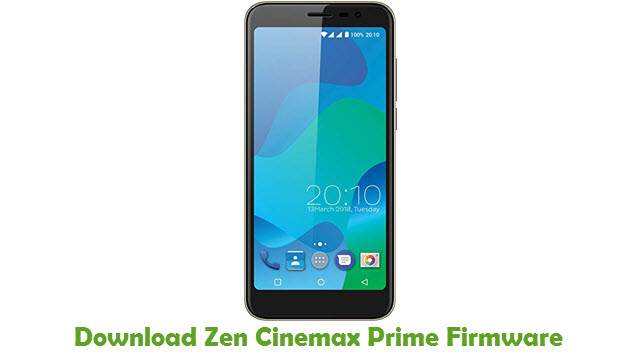 Download Zen Cinemax Prime Stock ROM