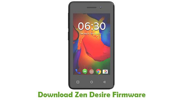 Download Zen Desire Stock ROM