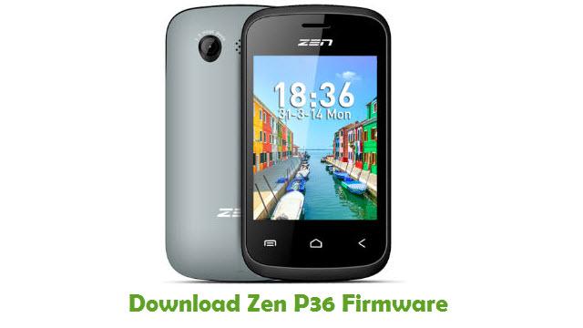 Download Zen P36 Stock ROM