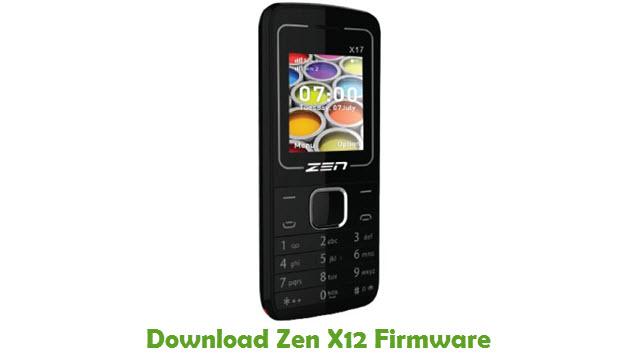 Download Zen X12 Stock ROM
