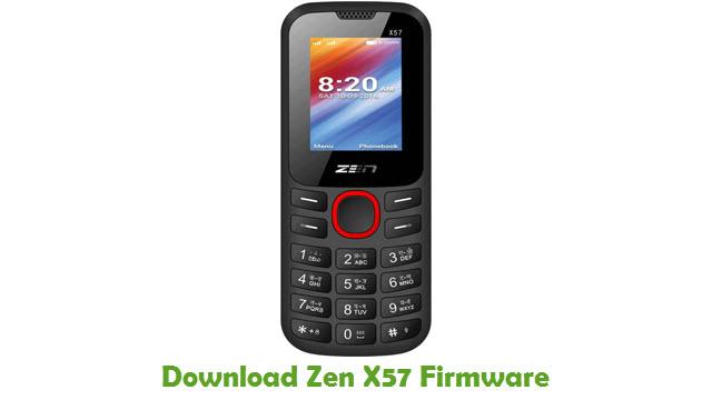 Download Zen X57 Stock ROM