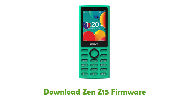 Download Zen Z15 Stock ROM