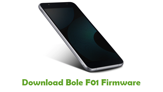 Download Bole F01 Stock ROM