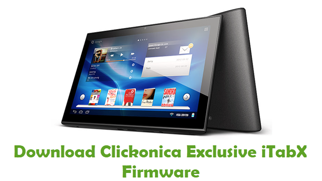 Download Clickonica Exclusive iTabX Firmware