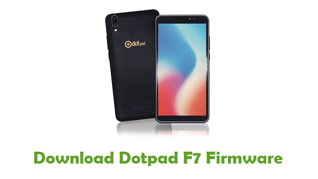 Download Dotpad F7 Stock ROM