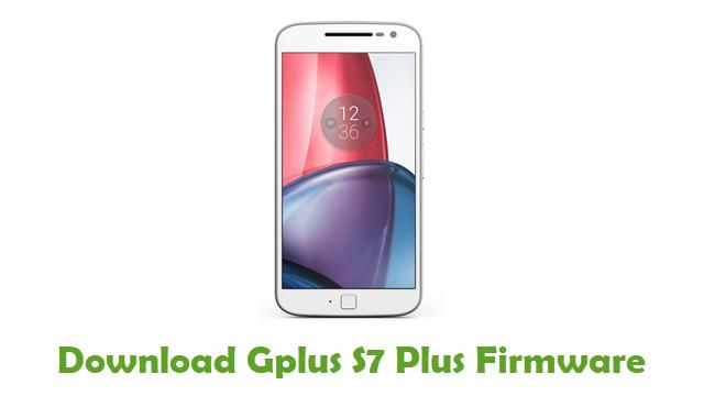 Download Gplus S7 Plus Stock ROM
