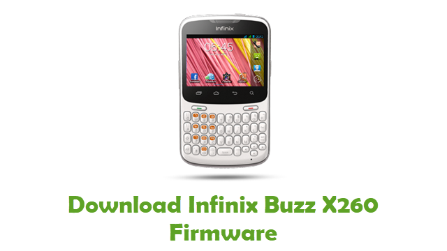 Download Infinix Buzz X260 Stock ROM